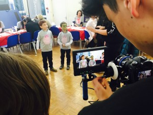 Margot's brothers, Oscar & Rufus are interviewed at the Crouch End Donor Registration Event last weekend