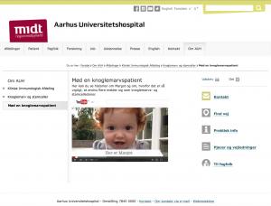 """The Danish Stem Cell Registry at Skejby Hospital in Aarhus named 7 October, """"Margot's Day""""."""