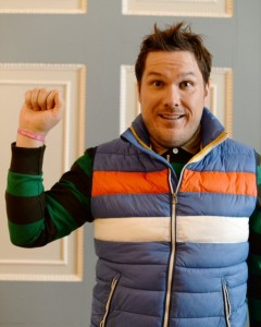 Marc Wootton plays Mr Poppy