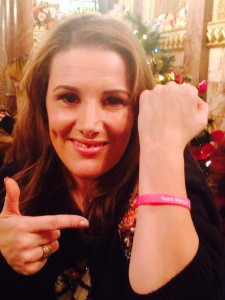 Sam Bailey shortly after winning X-Factor last year