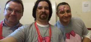 Adam & Jim who created the taunton4margot.com website and took control of social media for Becki