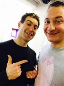 Comedian Lee Nelson shows up to register as a stem cell donor and show his support