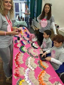 Author & TV Dr Ellie Cannon buys some Margot Bows for her daughter