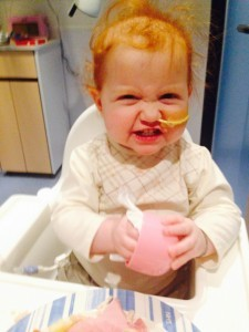 Margot gets into the habit of using disinfectant wipes...
