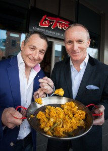 Simon Wilkinson, CEO of La Tasca came up with the idea of paella4margot - Thank you Simon !