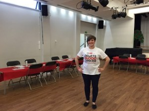 Sam Sarsfield - who initially contacted us to run her Dance4Margot event & then after completing her studies went on to work full time at Delete Blood Cancer UK. Brilliant.