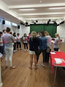 Volunteer briefing - the unsung heroes