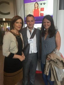 with Sue Lloyd Roberts & her daughter Sarah