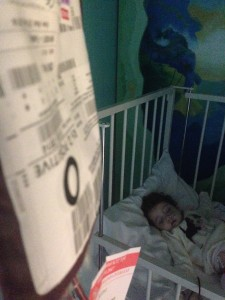 Margot needed many blood & platelet donations to keep her clinically well