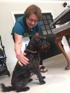Margot's Nannie with Plum