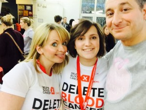 Me with Caroline, Head of Donor Recruitment at DBC UK & Yaser