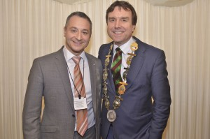 with Andrew Griffiths MP