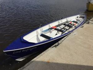 Our Celtic Longboat, The Lord Beefington