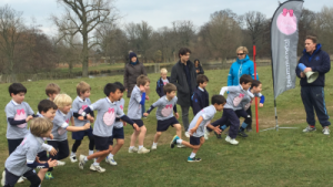 Junior School Cross Country Run earlier this year