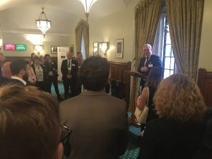 Host, Mark Tami MP welcomes everyone & explains his reasons for supporting the stem cell APPG