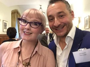 with the remarkable Kathryn Cartwright, who after two stem cell transplants, needed a liver transplant - following which the liver donors stem cells ejected her German donors stem cells and hunkered down - an accidental stem cell transplant and a world first.