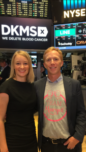 with Carina Ortel, CEO of DKMS US