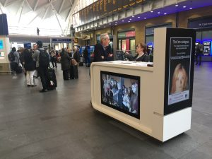 Thank you to DKMS & all our volunteers who manned the Mobile Promotions Kiosks in Kings Cross, Paddington & Charing Cross stations on 7 October