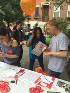 Donor Recruitment Event, Brooklyn Park, New York, USA