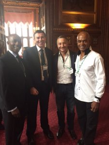 (l to r) Rudi Page (CEO of Making Connections Work), Ian Trenholm (CEO of NHSBT), me & Orin Lewis (CEO of ACLT)
