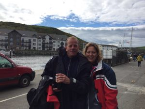 Mike & Sharon (a power rowing couple!)