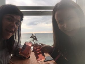 (L to R): Andi & Philippa