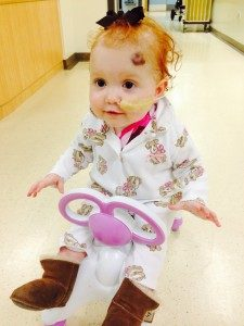 Margot, at Great Ormond Street Hospital