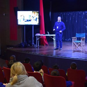 At KidZania London, during Careers Week