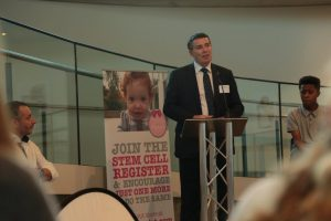 Ian Trenholm, CEO of NHS Blood and Transplant