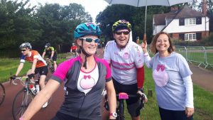 Well done to everyone who took part in Prudential Ride London & in particular Caz and Ben who did so in memory of Margot and in support of Team Margot Foundation