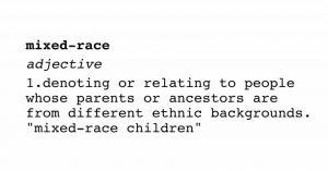 mixed race