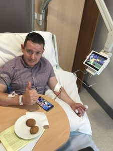 meet Rob Rowe, a peripheral blood stem cell donor & potential lifesaver