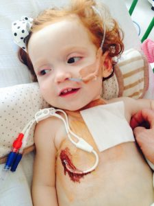 Margot's mixed heritage was the reason why it wasn't possible to find her perfect matching donor